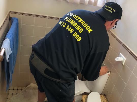 Cherrybrook Plumbing cistern repair of leaking toilet