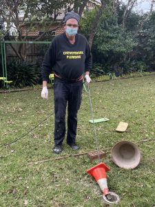 Cherrybrook Plumbing Clearing a Greasetrap